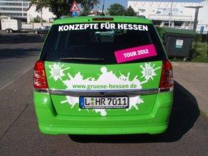 Autofolierung bei Kombi in Frankfurt