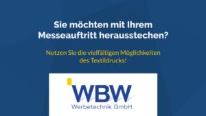 Screenshot des Videos von WBW Werbetechnik GmbH