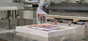 Digitaldruckmaschine mit Exemplaren
